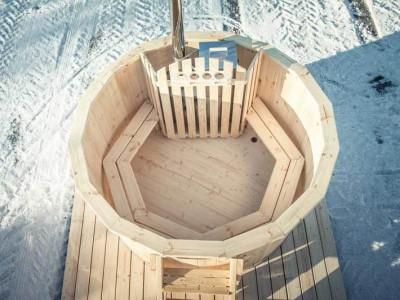 Bain nordique en bois Épicéa