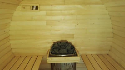 Sauna barrel