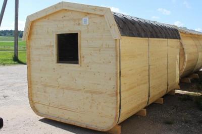 Sauna barrel