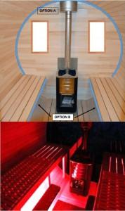 sauna-led