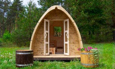 Cabane POD en bois