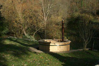 Bain nordique en bois