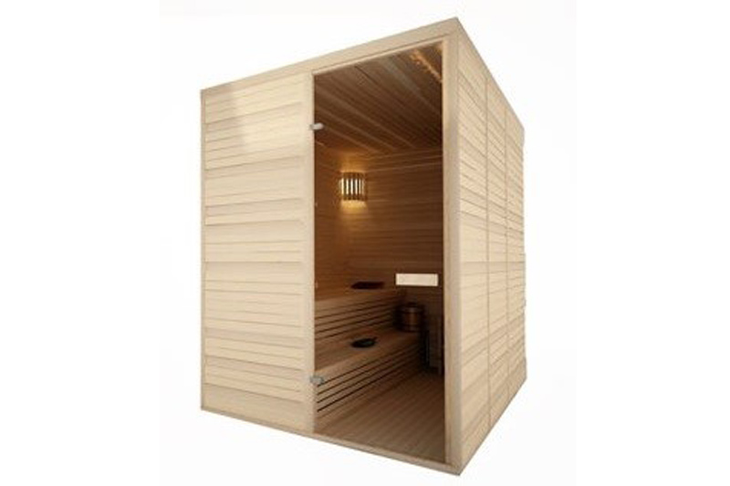 indoor sauna interieur 14 forest spa. Black Bedroom Furniture Sets. Home Design Ideas