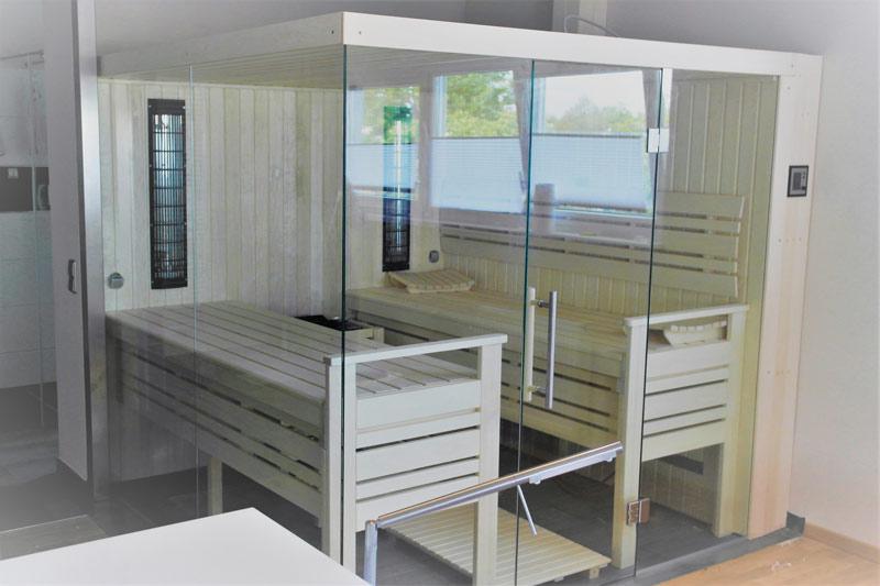 indoor sauna interieur 3 forest spa. Black Bedroom Furniture Sets. Home Design Ideas