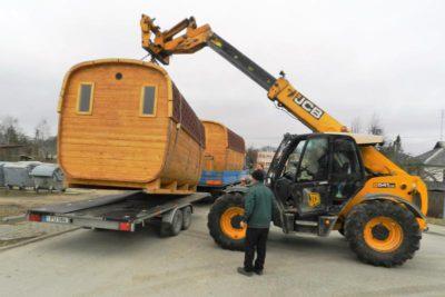 Sauna transport