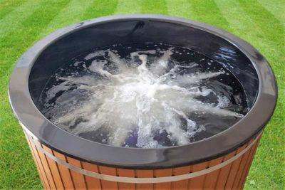 Bain nordique en fibre de verre