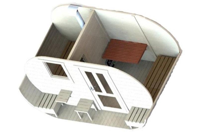 Oval-sauna-model