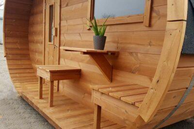 Sauna ovale