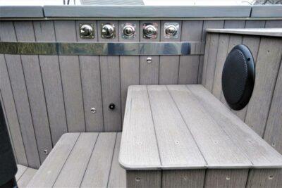 Bain nordique sur roues remorque