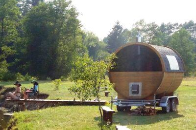 Sauna remorque