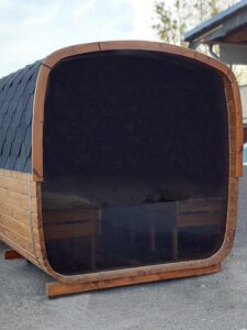 Sauna baril carre