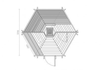 Sauna Kota 9.2 m2
